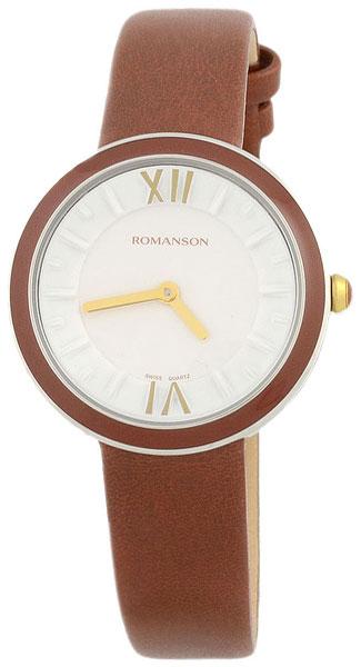Romanson Romanson RL 3239 LC(WH)BN romanson женские наручные часы rn0391ql1gas1g