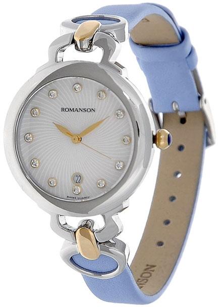 Romanson Romanson RN 2622 LC(WH)BU romanson женские наручные часы rn0391ql1gas1g