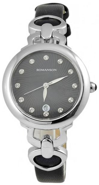 Romanson Romanson RN 2622 LW(BK)BK наручные часы romanson tl2617mw bk bk