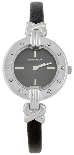 Romanson Romanson RN 3215 LW(BK)BK наручные часы romanson tl2617mw bk bk