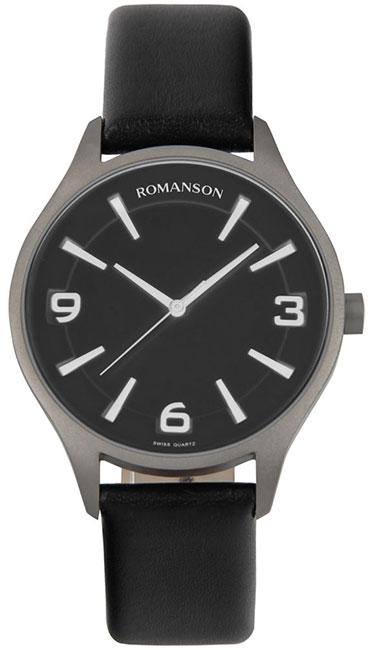 Romanson Romanson TL 1243 MW(BK)BK наручные часы romanson tl2617mw bk bk