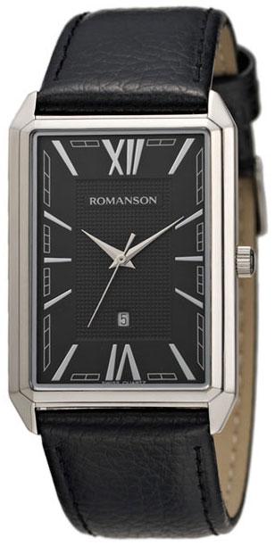 Romanson Romanson TL 4206 MW(BK)BK наручные часы romanson tl2617mw bk bk