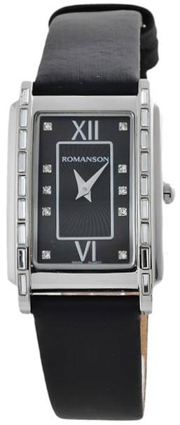Romanson Romanson RL 1252T LW(BK)BK наручные часы romanson tl2617mw bk bk