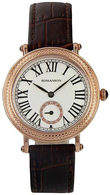 Romanson Romanson RL 1253B LR(WH)D.BN наручные часы romanson tm0337mj wh