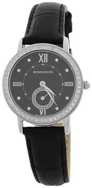Romanson Romanson RL 3240Q LW(BK)BK наручные часы romanson tl2617mw bk bk