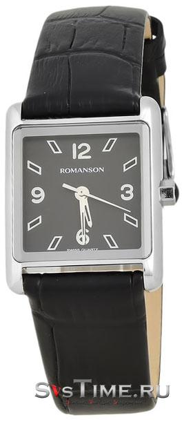 Romanson Romanson RL 3243 LW(BK)BK наручные часы romanson tl2617mw bk bk