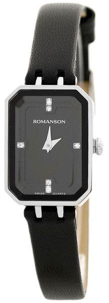 Romanson Romanson RL 4207 LW(BK)BK наручные часы romanson tl2617mw bk bk