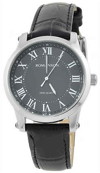 Romanson Romanson TL 0334 LW(BK) наручные часы romanson tl2617mw bk bk