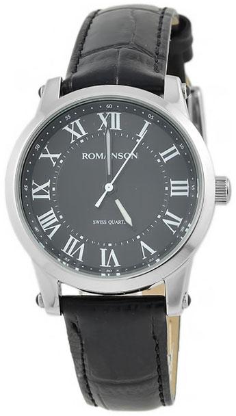 Romanson Romanson TL 0334 LW(BK)RIM наручные часы romanson tl2617mw bk bk