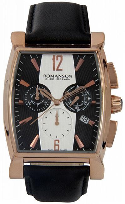 Romanson Romanson TL 1249H MR(BK)BK наручные часы romanson tl2617mw bk bk