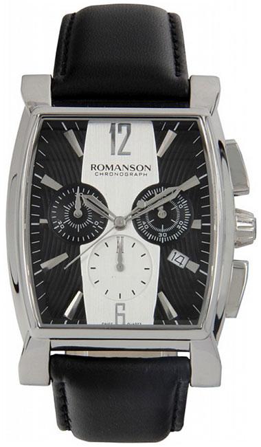 Romanson Romanson TL 1249H MW(BK)BK наручные часы romanson tl2617mw bk bk