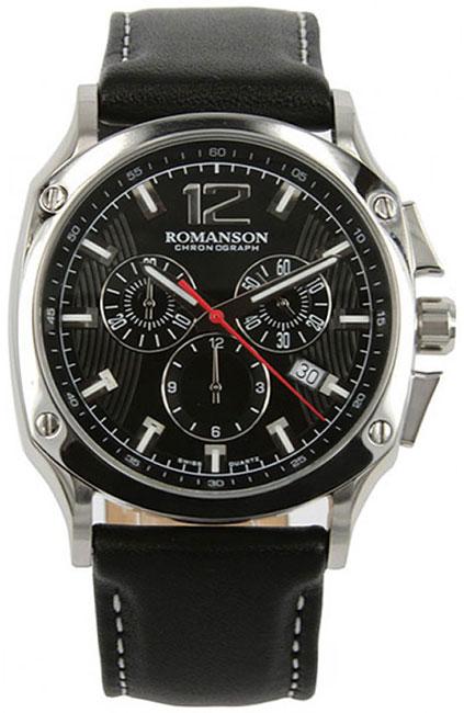 Romanson Romanson TL 1270H MW(BK)BK наручные часы romanson tl2617mw bk bk