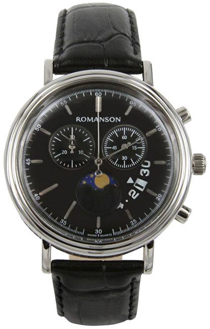 Romanson Romanson TL 1276H MW(BK)BK наручные часы romanson tl2617mw bk bk
