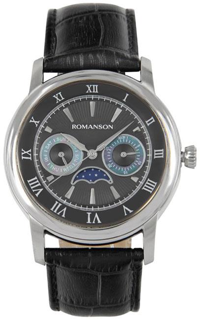 Romanson Romanson TL 2616F MW(BK)BK наручные часы romanson tl2617mw bk bk