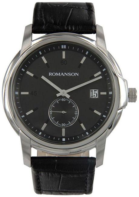 Romanson Romanson TL 2631J MW(BK)BK наручные часы romanson tl2617mw bk bk