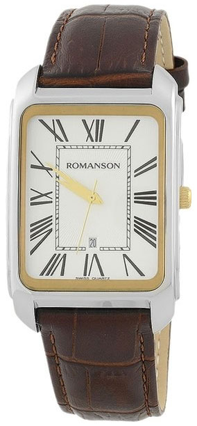 Romanson Romanson TL 2632 MC(WH) наручные часы romanson tm0337mj wh