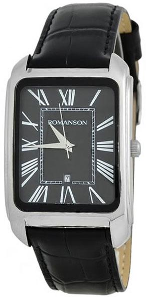 Romanson Romanson TL 2632 MW(BK)BK наручные часы romanson tl2617mw bk bk