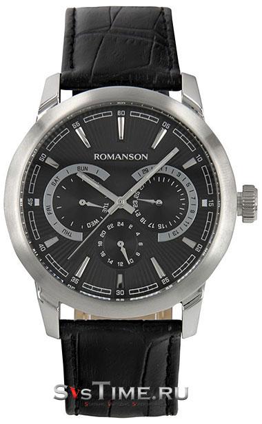 Romanson Romanson TL 2647F MW(BK)BK наручные часы romanson tl2617mw bk bk