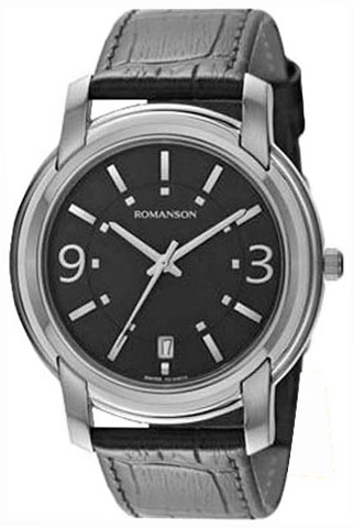 Romanson Romanson TL 2654 MW(BK)BK наручные часы romanson tl2617mw bk bk
