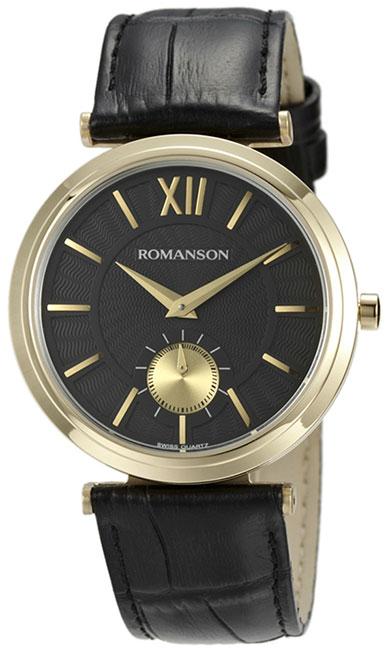 Romanson Romanson TL 3238J MG(BK)BK наручные часы romanson tl2617mw bk bk