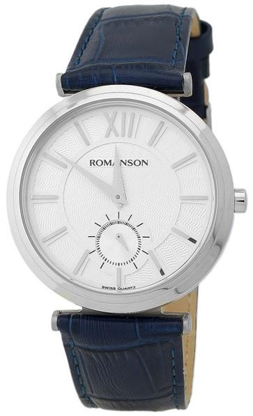 Romanson Romanson TL 3238J MW(WH)BU наручные часы romanson tm0337mj wh