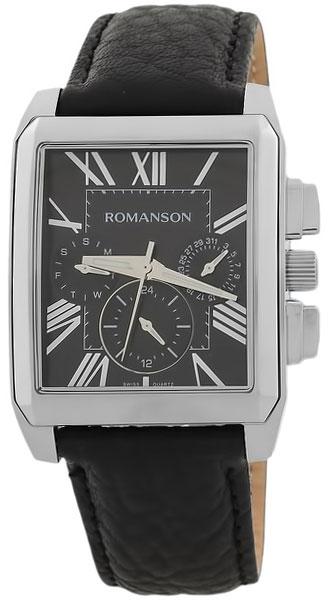 Romanson Romanson TL 3250F MW(BK)BK наручные часы romanson tl2617mw bk bk