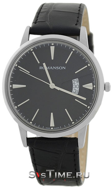 Romanson Romanson TL 4201 MW(BK)BK наручные часы romanson tl2617mw bk bk