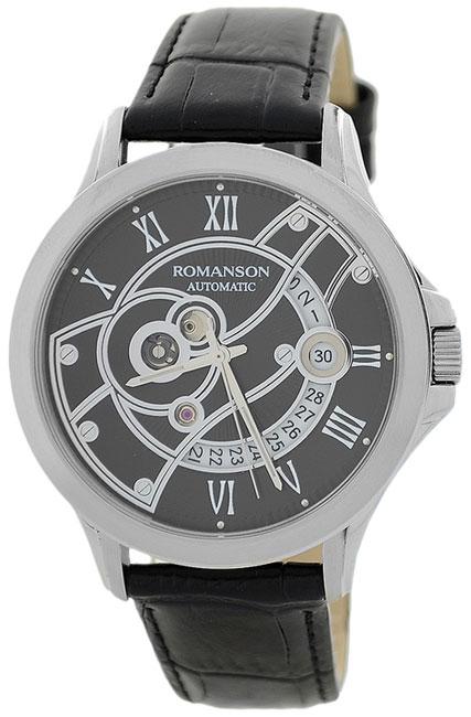 Romanson Romanson TL 4215R MW(BK)BK наручные часы romanson tl2617mw bk bk