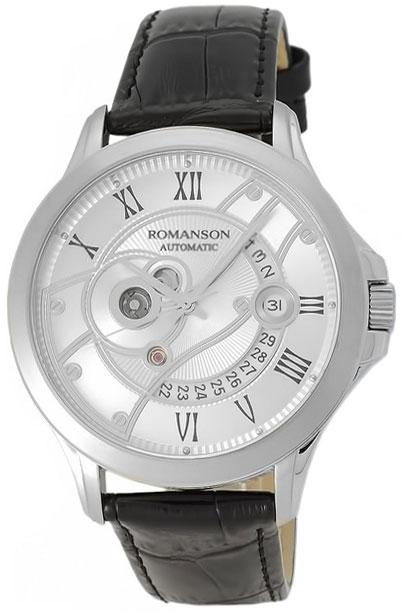 Romanson Romanson TL 4215R MW(WH)BK наручные часы romanson tm0337mj wh