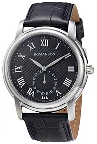 Romanson Romanson TL 4255J MW(BK) наручные часы romanson tl2617mw bk bk
