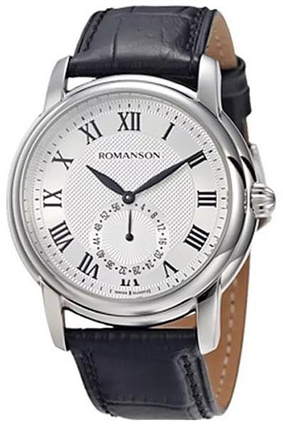 Romanson Romanson TL 4255J MW(WH) наручные часы romanson tm0337mj wh