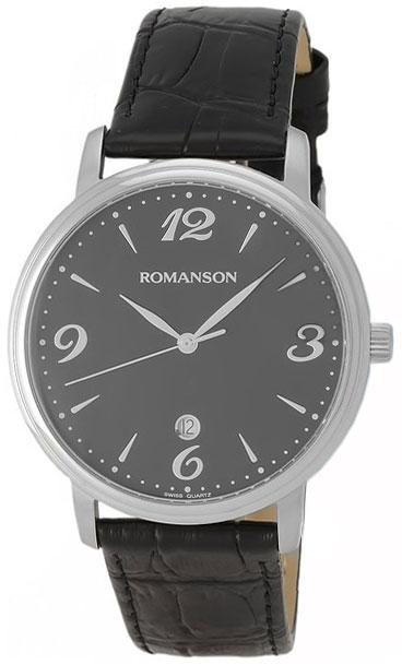 Romanson Romanson TL 4259 MW(BK) наручные часы romanson tl2617mw bk bk