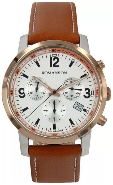 Romanson Romanson TL 7235H MJ(WH) наручные часы romanson tm0337mj wh