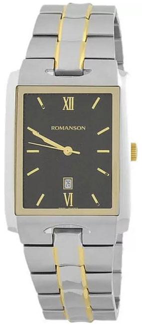 Romanson Romanson TM 0186C XC(BK) наручные часы romanson tl2617mw bk bk