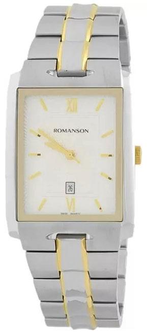 Romanson Romanson TM 0186C XC(WH) наручные часы romanson tm0337mj wh
