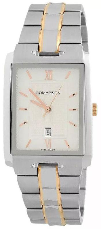 Romanson Romanson TM 0186C XJ(WH) наручные часы romanson tm0337mj wh