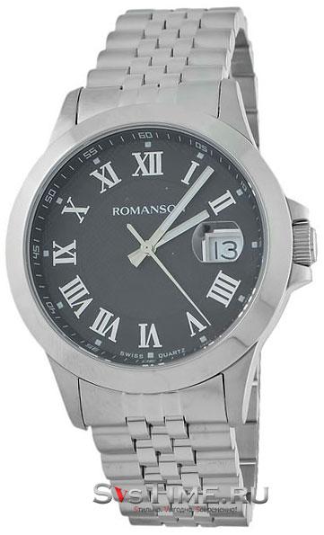 Romanson Romanson TM 0361 MW(BK) наручные часы romanson tl2617mw bk bk