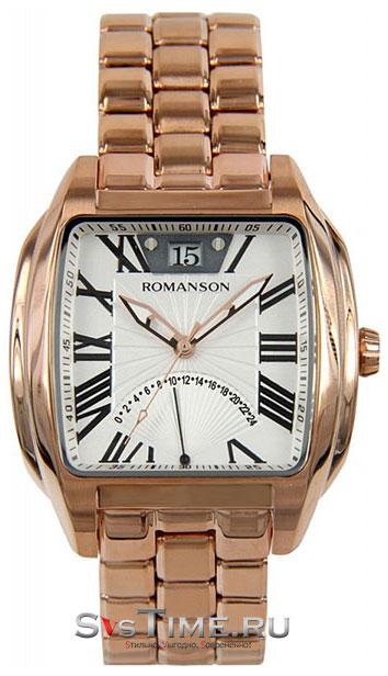 Romanson Romanson TM 1273 MR(WH) наручные часы romanson tm0337mj wh