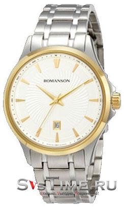 Romanson Romanson TM 4222 MC(WH) наручные часы romanson tm0337mj wh