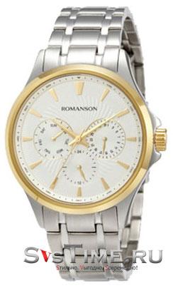 Romanson Romanson TM 4222F MC(WH) наручные часы romanson tm0337mj wh