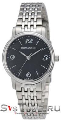Romanson Romanson TM 4259 LW(BK) наручные часы romanson tl2617mw bk bk