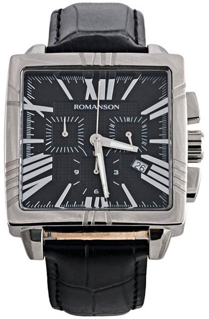 Romanson Romanson TL 1263H MW(BK) наручные часы romanson tl2617mw bk bk