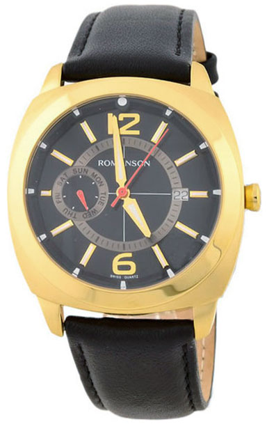 Romanson Romanson TL 3220F MG(BK)BK наручные часы romanson tl2617mw bk bk