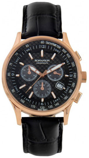 Romanson Romanson TL 4131H MR(BK) наручные часы romanson tl2617mw bk bk