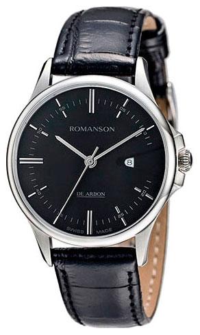 Romanson Romanson CL 5A10 LW(BK) наручные часы romanson tl2617mw bk bk
