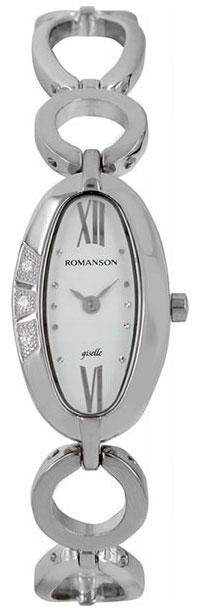 Romanson Romanson RM 0349Q LW(WH) наручные часы romanson tm0337mj wh