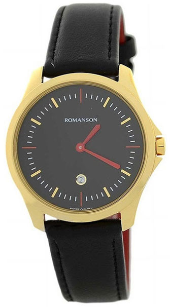 Romanson Romanson TL 4214U UG(BK)BK наручные часы romanson tl2617mw bk bk