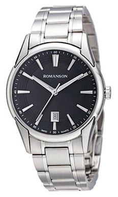 Romanson Romanson TM 5A20 LW(BK) наручные часы romanson tl2617mw bk bk