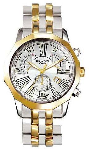 Romanson Romanson PM 6153H MC(WH) мужские часы am pm pm139 u213