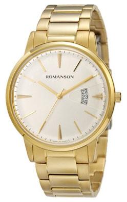 Romanson Romanson TM 4201 MG(WH) наручные часы romanson tm0337mj wh